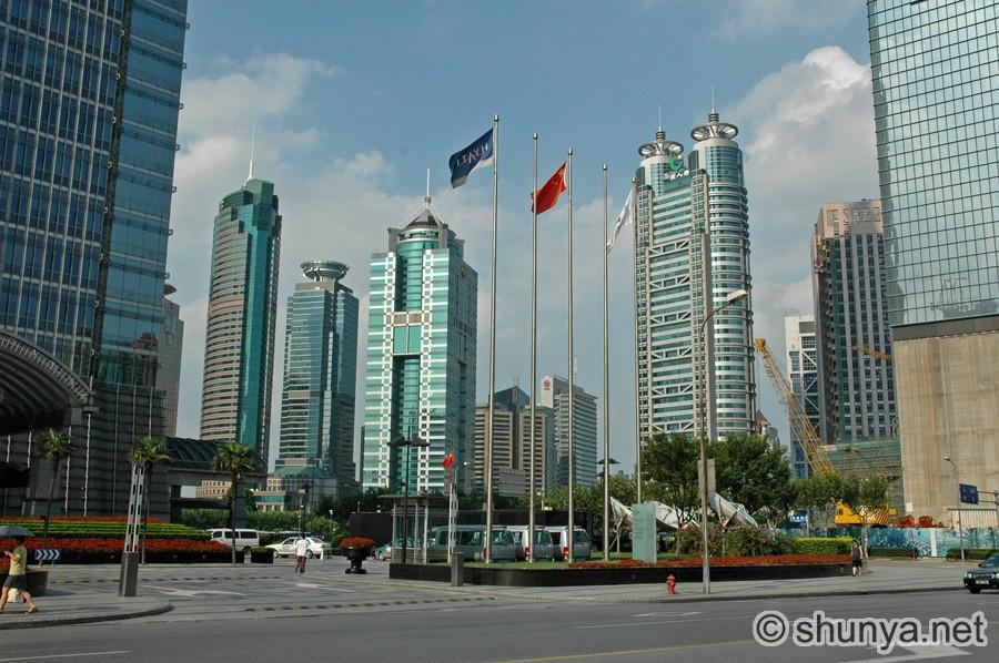 Skyscrapers Of Shanghai China Shunya