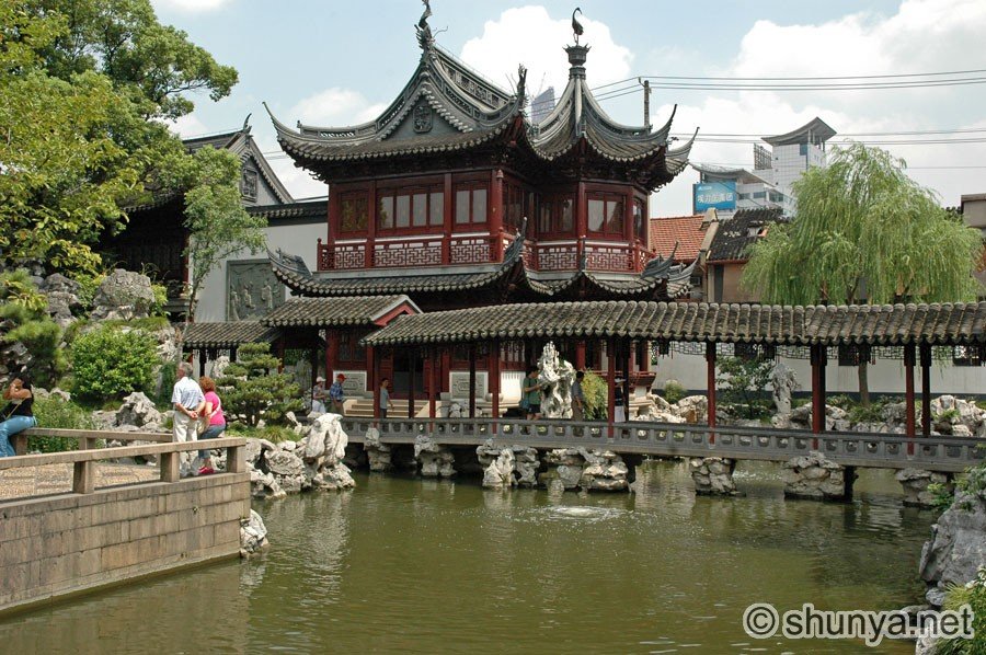 Yuyuan Garden Shanghai China Shunya