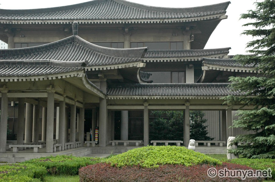 Shaanxi museum xian china shunya