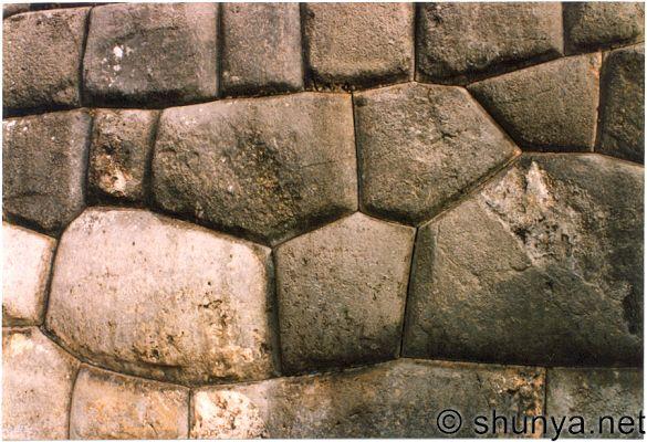 Peru'daki Duvar Taşları