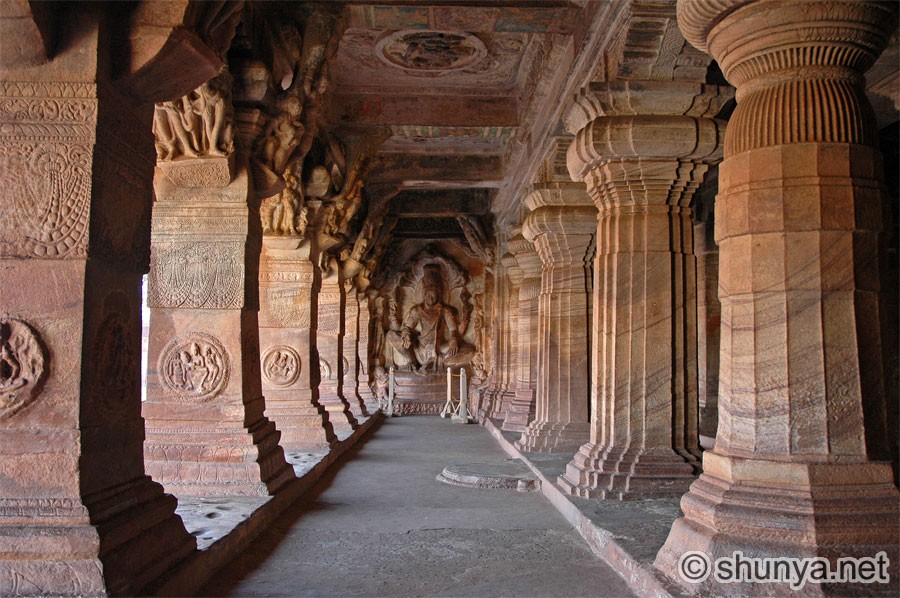 badami caves india Geography the badami cave temples are located in the town of badami in the north-central part of karnataka, india the temples are about 88 miles (142 km) east of.